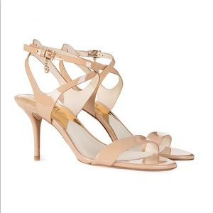 MICHAEL KORS Kaylee Mid Heel Sandals